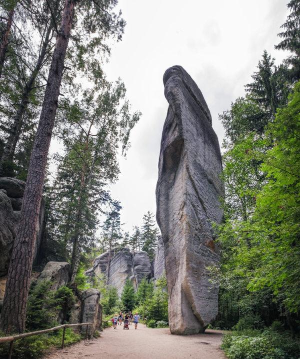 Adršpach - sziklaváros