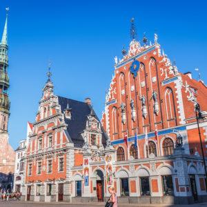 Riga - Feketefejűek háza