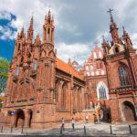 Vilnius – Szent Anna templom