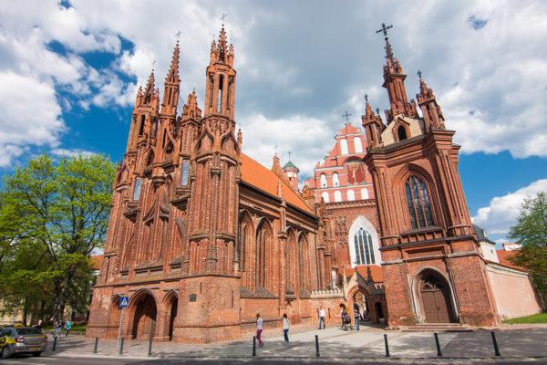 Vilnius - Szent Anna templom