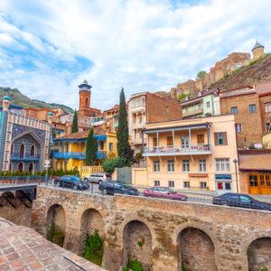 Tbilisi - Kénes fürdők