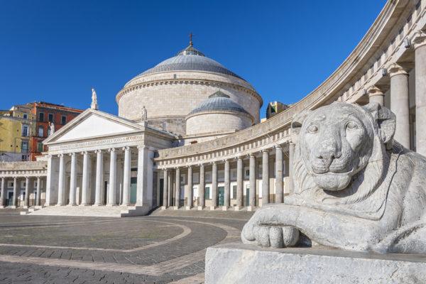 Nápoly - Paolai Szent Ferenc templom